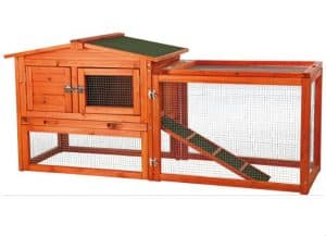 TRIXIE Rabbit Outdoor Best Rabbit Hutch with Outside Run