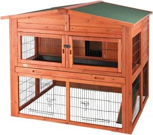 TRIXIE two-story Bunny Hooch with Attic