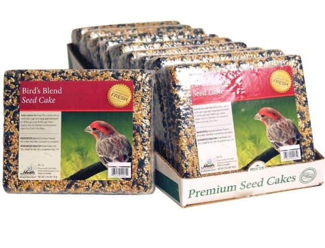 Heath Outdoor Products Wild  Birds Blend Seed Cake