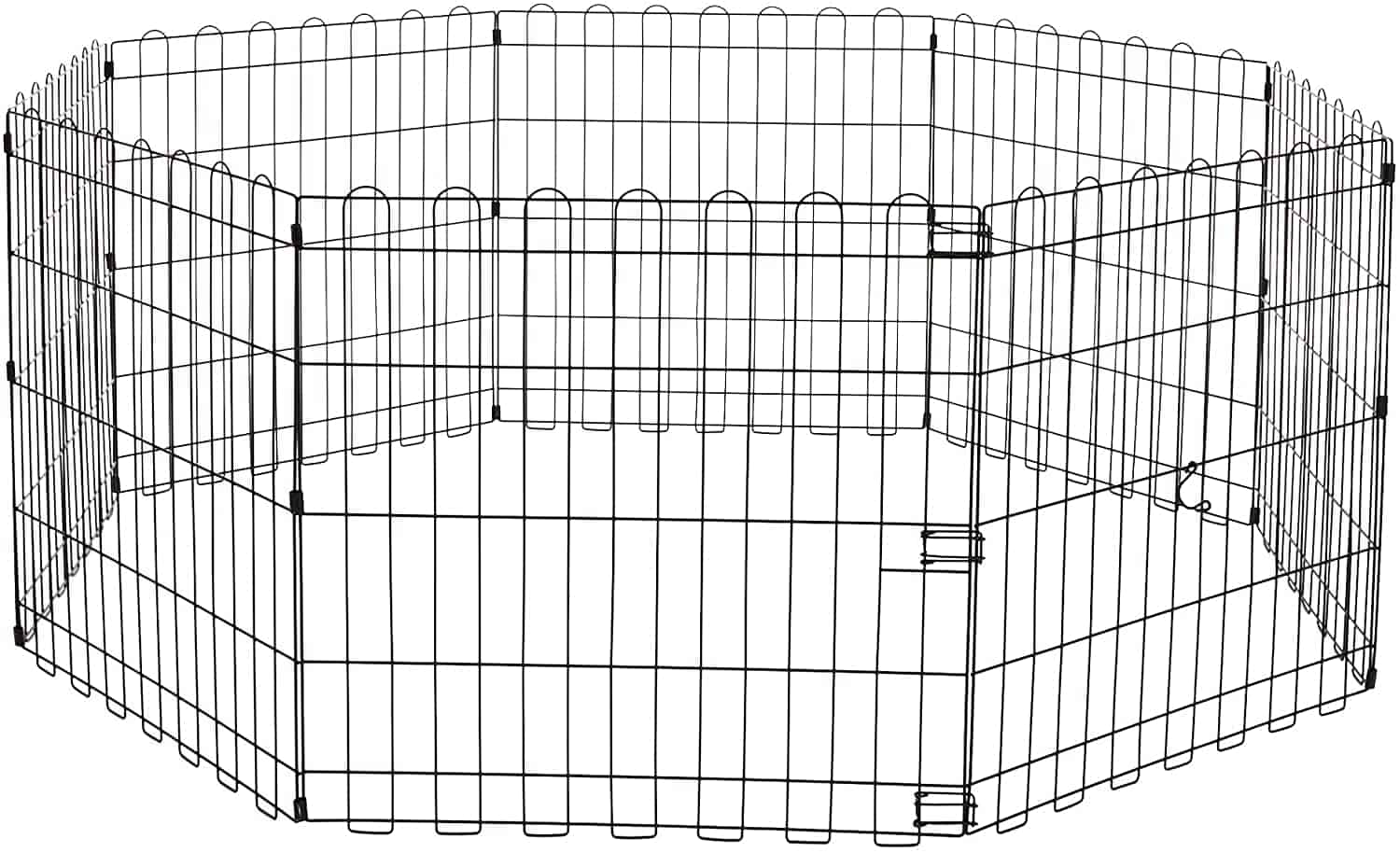 AmazonBasic Foldable Metal Huff Exercise and Playpen