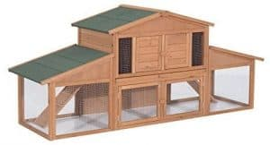 Pawhut 91 inches Deluxe Excellent Bunny Hutches
