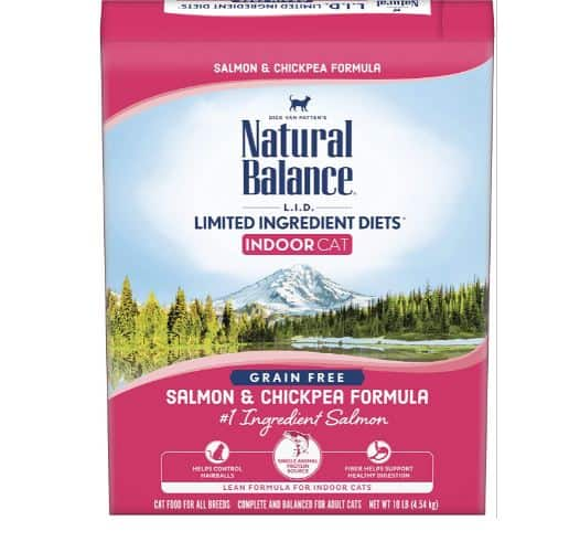 Natural Balance L.I.D. Limited Ingredient Diets Salmon & Chickpea